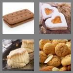 4 pics 1 word 7 letters biscuit