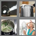 4 pics 1 word 7 letters boiling