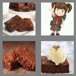 4 pics 1 word 7 letters brownie