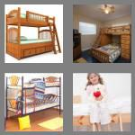 4 pics 1 word 7 letters bunkbed
