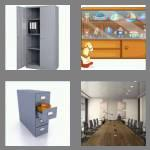 4 pics 1 word 7 letters cabinet