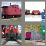 4 pics 1 word 7 letters caboose