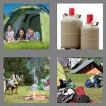 4 pics 1 word 7 letters camping