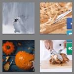 4 pics 1 word 7 letters carving