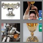 4 pics 1 word 7 letters chalice