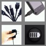 4 pics 1 word 7 letters charger