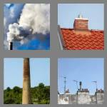 4 pics 1 word 7 letters chimney