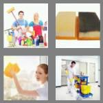 4 pics 1 word 7 letters cleaner