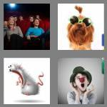 4 pics 1 word 7 letters comical