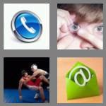 4 pics 1 word 7 letters contact
