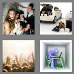 4 pics 1 word 7 letters cramped