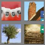 4 pics 1 word 7 letters crooked