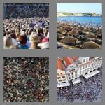 4 pics 1 word 7 letters crowded