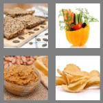 4 pics 1 word 7 letters crunchy