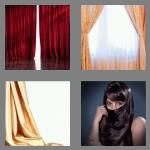 4 pics 1 word 7 letters curtain