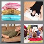 4 pics 1 word 7 letters cushion
