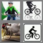 4 pics 1 word 7 letters cyclist
