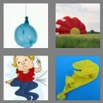 4 pics 1 word 7 letters deflate