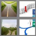 4 pics 1 word 7 letters diverge