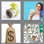 4 pics 1 word 7 letters dollars
