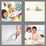 4 pics 1 word 7 letters drawing