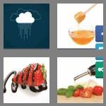 4 pics 1 word 7 letters drizzle