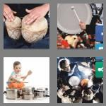 4 pics 1 word 7 letters drummer