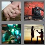 4 pics 1 word 7 letters engaged