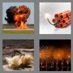 4 pics 1 word 7 letters explode