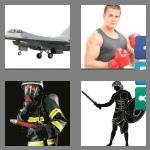 4 pics 1 word 7 letters fighter