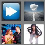 4 pics 1 word 7 letters forward
