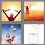 4 pics 1 word 7 letters freedom