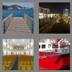 4 pics 1 word 7 letters gangway