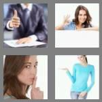 4 pics 1 word 7 letters gesture
