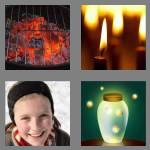 4 pics 1 word 7 letters glowing