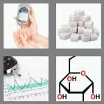 4 pics 1 word 7 letters glucose