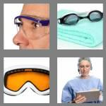 4 pics 1 word 7 letters goggles