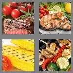 4 pics 1 word 7 letters grilled