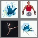 4 pics 1 word 7 letters gymnast