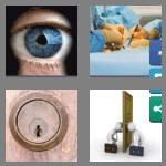 4 pics 1 word 7 letters keyhole
