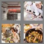 4 pics 1 word 7 letters kitchen