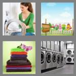4 pics 1 word 7 letters laundry