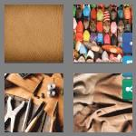 4 pics 1 word 7 letters leather