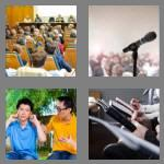 4 pics 1 word 7 letters lecture