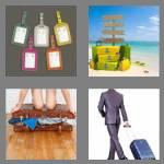 4 pics 1 word 7 letters luggage
