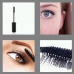 4 pics 1 word 7 letters mascara