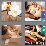 4 pics 1 word 7 letters massage