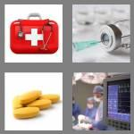 4 pics 1 word 7 letters medical