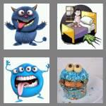 4 pics 1 word 7 letters monster