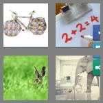 4 pics 1 word 7 letters obvious
